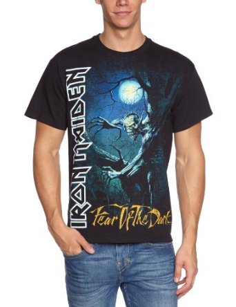 IRON MAIDEN 官方进口原版 Fear of the Dark (TS-S)
