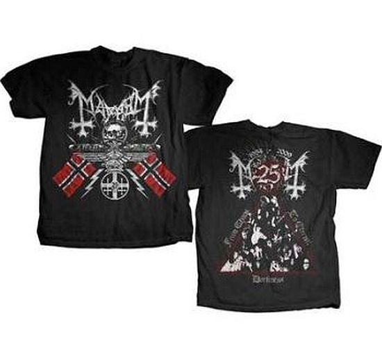 MAYHEM 官方原版 25Years (TS-XL)