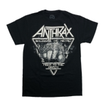 ANTHRAX 官方原版 Fistful of Metal (TS-XXL)