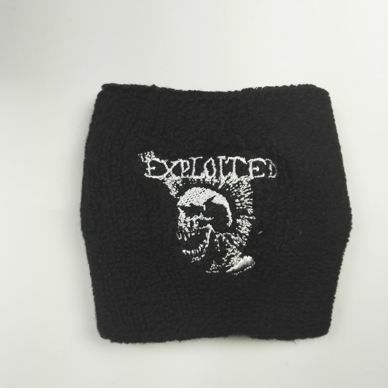 EXPLOITED,THE 官方原版运动护腕 Mohican Skull 17新品