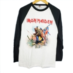 IRON MAIDEN 官方原版棒球衫 Trooper(LS-XL)