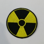 NUCLEAR - Logo 摇滚乐文化 (Embroidered Patch) TTP