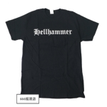 HELLHAMMER 官方进口原版你 Only Death Is Real (TS-XL)