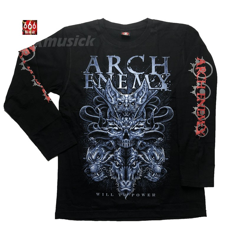 ARCH ENEMY - Will To Power 2019 Tour (LS-L) TTL1911