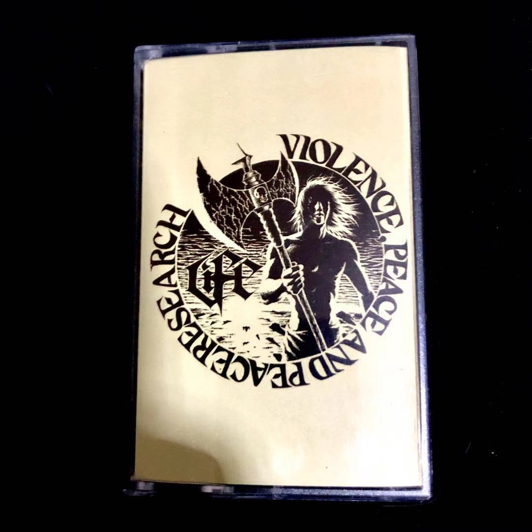 LIFE VIOLENCE - Peace And Peaceresearch (Cassette)