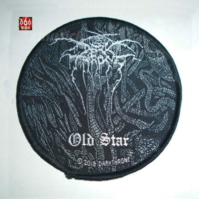 DARKTHRONE 官方原版 Old Star 圆形 (Woven Patch)