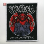 SEPULTURA 官方进口原版 Bestial Devastation (Woven Patch)