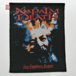 NAPALM DEATH 美国原版进口 Fear (Woven Patch)