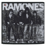 RAMONES 官方原版 Band photo (Woven Patch)