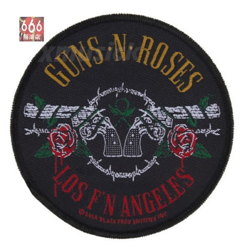 GUNS N ROSES 官方原版 Los Angelus (Woven Patch)