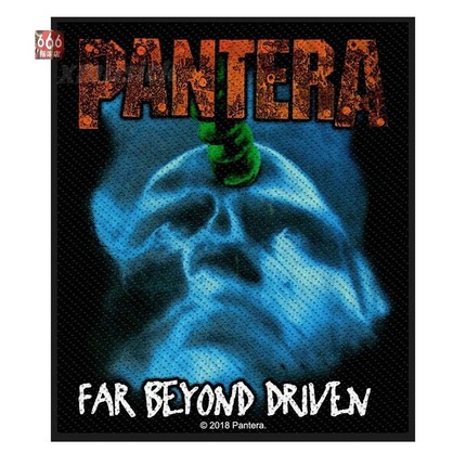 PANTERA 官方原版 Far Beyond Driven (Woven Patch)