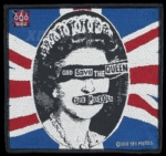 SEX PISTOLS 性手枪 官方进口原版 God Save the Queen 正方(Woven Patch)