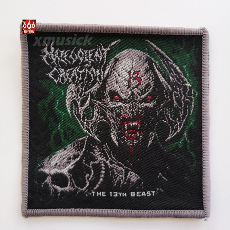 MALEVOLENT CREATION 官方进口原版 The 13th Beast (Woven Patch)