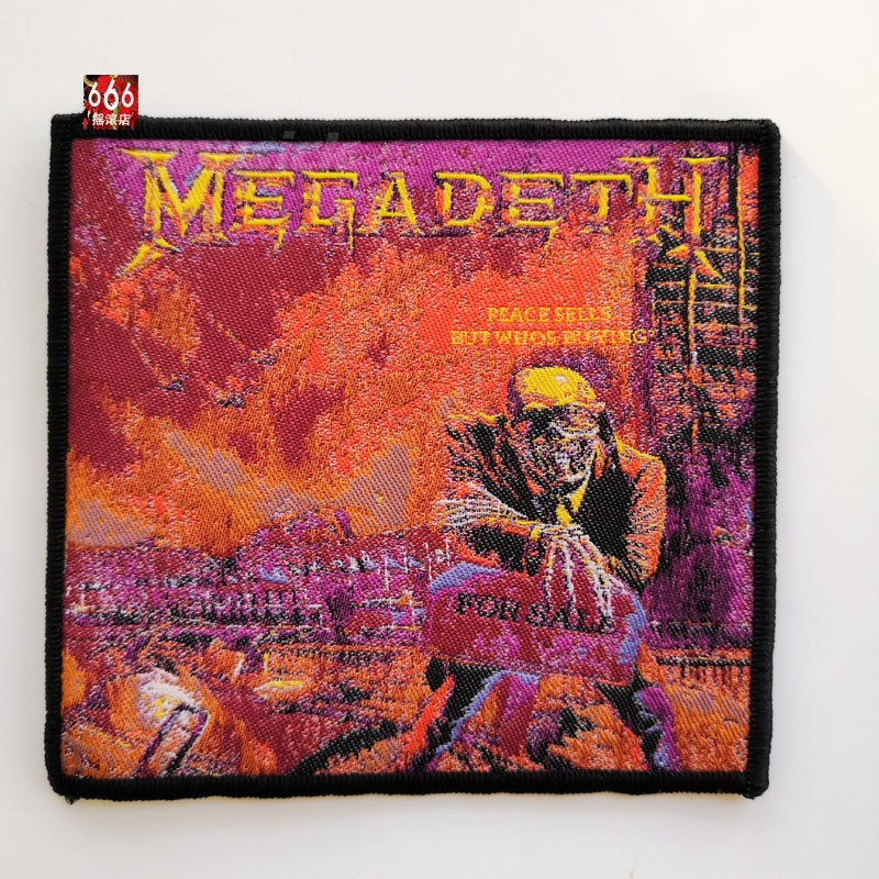 MEGADETH 进口原版 Peace Sells (Woven Patch)