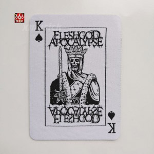 FLESHGOD APOCALYPSE 官方原版 King (Woven Patch)