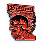 EXPLOITED, THE 美国进口异形金属胸针 Mohawk (Metal Pin)