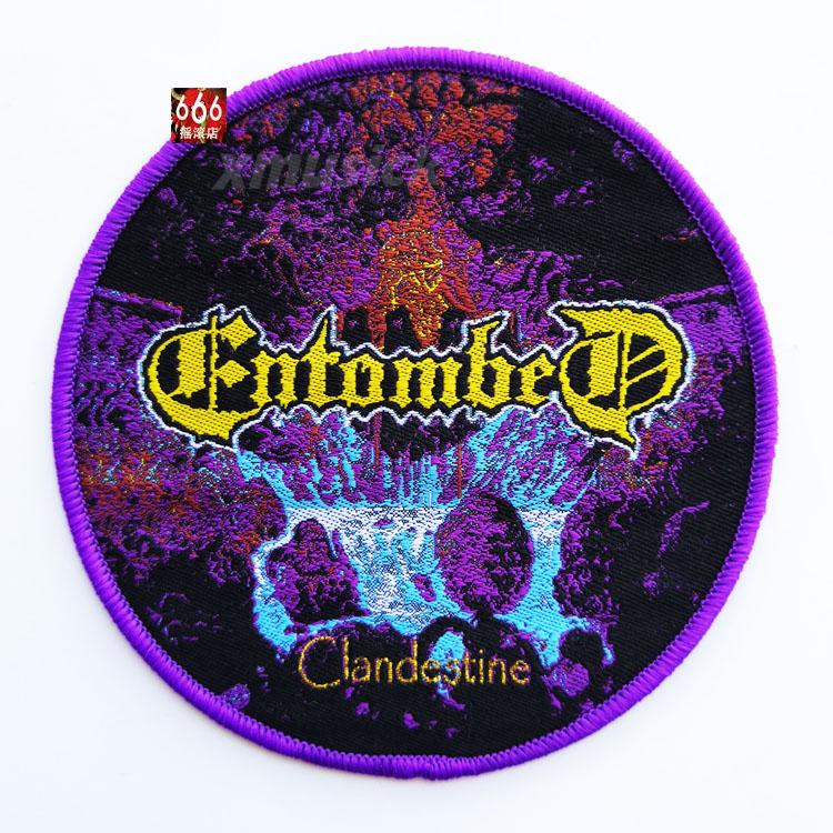 ENTOMBED 美国原版 Clandestine (Woven Patch)