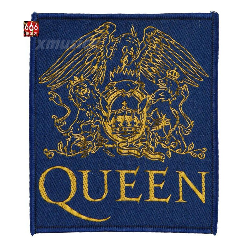 QUEEN 皇后乐队官方原版布标 (Woven Patch)
