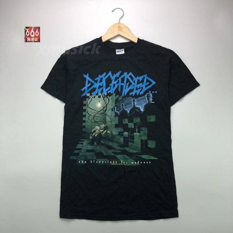 DECEASED 官方正版出品 Blueprints For Madness (TS-S)