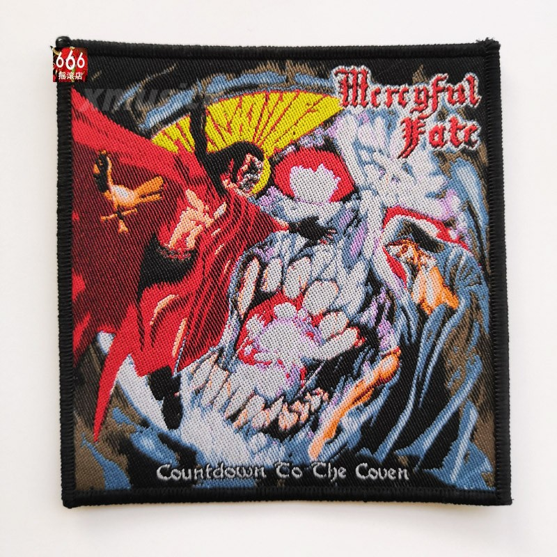 MERCYFUL FATE 进口原版 Countdown To The Coven (Woven Patch)
