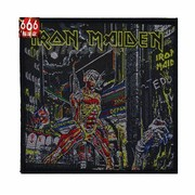 IRON MAIDEN 官方原版 Somewhere In Time (Woven Patch)