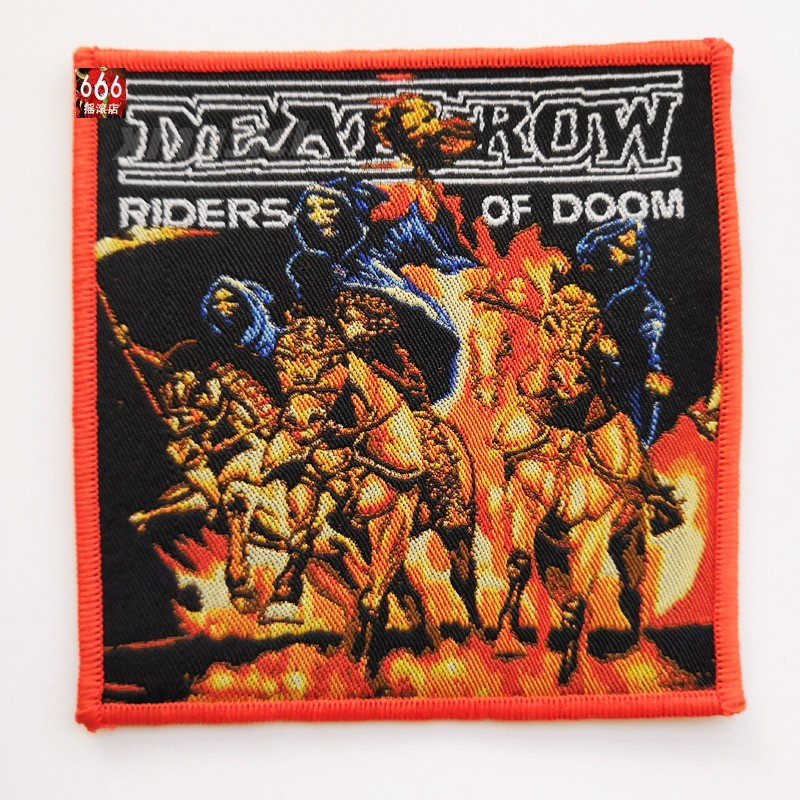 DEATHROW 官方原版 Riders Of Doom (Woven Patch)