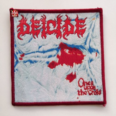 DEICIDE 官方原版 Once Upon The Cross (Woven Patch)