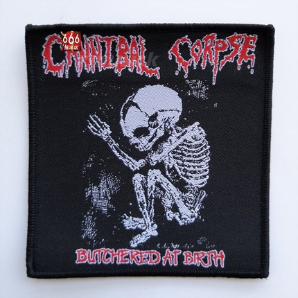 CANNIBAL CORPSE 官方原版 Butcher Baby (Woven Patch)
