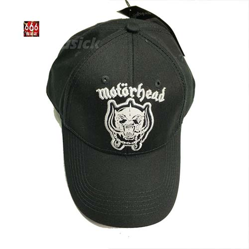 MOTORHEAD 官方原版 Warpig Logo 刺绣 (弯沿棒球帽)