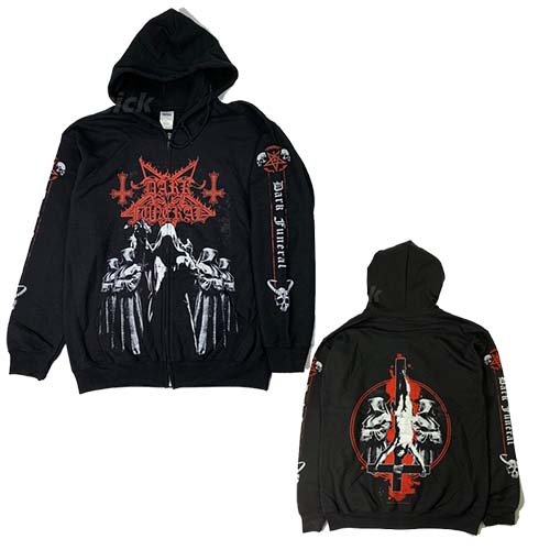 DARK FUNERAL 官方原版开身帽衫 Shadow Monks (Hoodie-M)