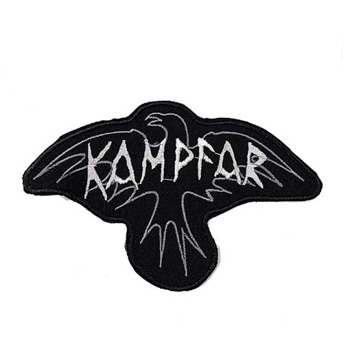 KAMPFAR 官方原版布标 Logo (Embroidered Patch)