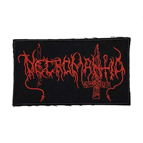 NECROMANTIA 官方原版布标 Logo (Embroidered Patch)