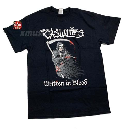 CASUALTIES,THE 官方原版 Blood (TS-S)