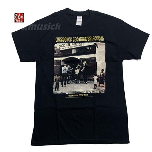 CREEDENCE CLEARWATER REVIVAL 官方原版 Poor Boys (TS-S)