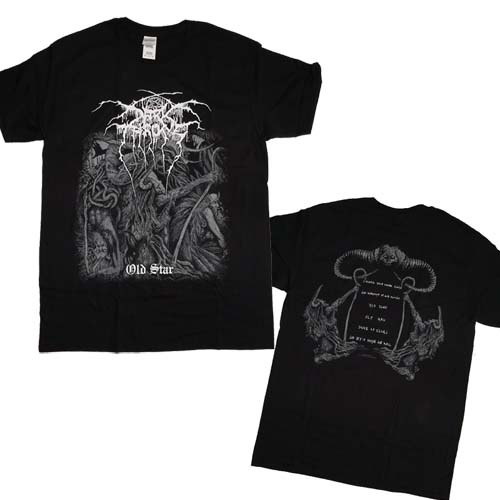 DARKTHRONE 官方原版 Old Star (TS-XL)