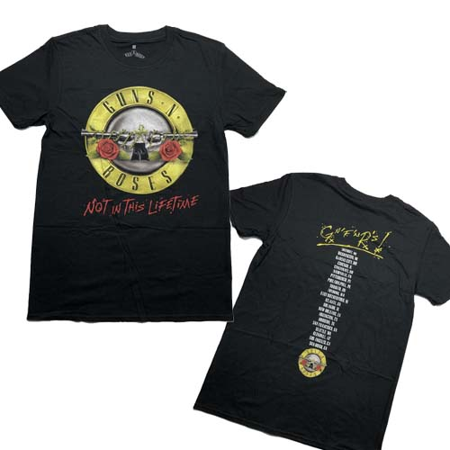 GUNS N ROSES 官方原版 Not In This Lifetime (TS-S)