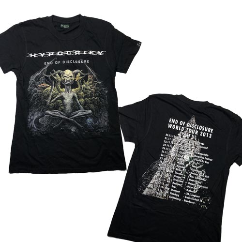 HYPOCRISY 官方原版 End of Disclosure Tour (TS-S)