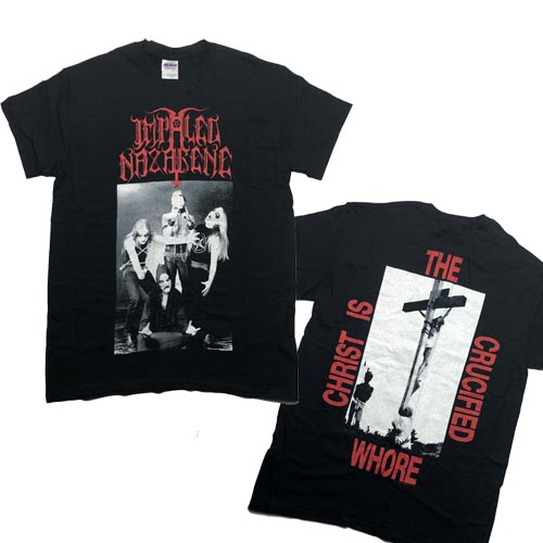 IMPALED NAZARENE 官方原版 Christ Is Crucified Whore(TS-S)