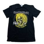 IRON MAIDEN 官方原版 Killers World Tour 81(TS-L)