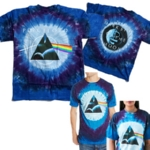 PINK FLOYD 官方原版 Dark Side Galaxy 扎染011 (TS-XXL)