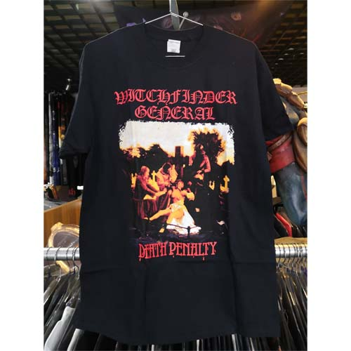 WITCHFINDER GENERAL 官方原版 Death Penalty (TS-XL)