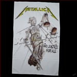 METALLICA 官方正版出品 ...And Justice For All 挂旗 海报(丝质)