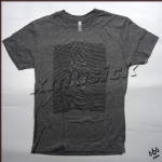 JOY DIVISION 官方原版 Unknown Pleasures 灰色(TS-XL)