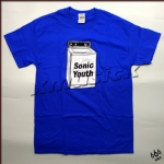 SONIC YOUTH 官方原版 Washing Machine (TS-M) 蓝色