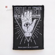 BULLET FOR MY VALENTINE 官方纪念布标 全视之眼 (Woven Patch)
