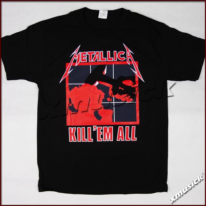 METALLICA 官方进口原版 Kill 'Em All (TS-XXL)