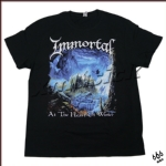 IMMORTAL 官方进口原版 At The Heart Of Winter (TS-XL