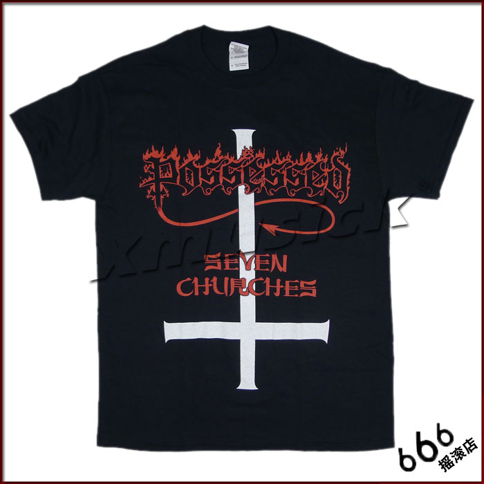 POSSESSED 官方原版 Seven Churches (TS-S)
