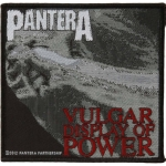 PANTERA 官方原版 Vulgar Display of Power (Woven Patch)