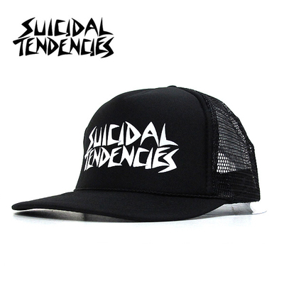 SUICIDAL TENDENCIES 官方进口原版 (棒球帽)白字